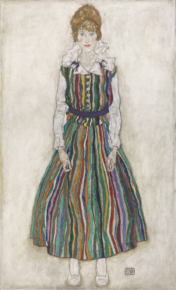 _dutch_national_portrait_gallery / egon_schiele_edith_gemeentemuseum_den_haag